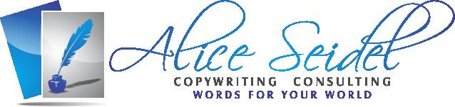 Free Copywriting Consult: 570-296-3475, Alice Seidel Shohola, PA